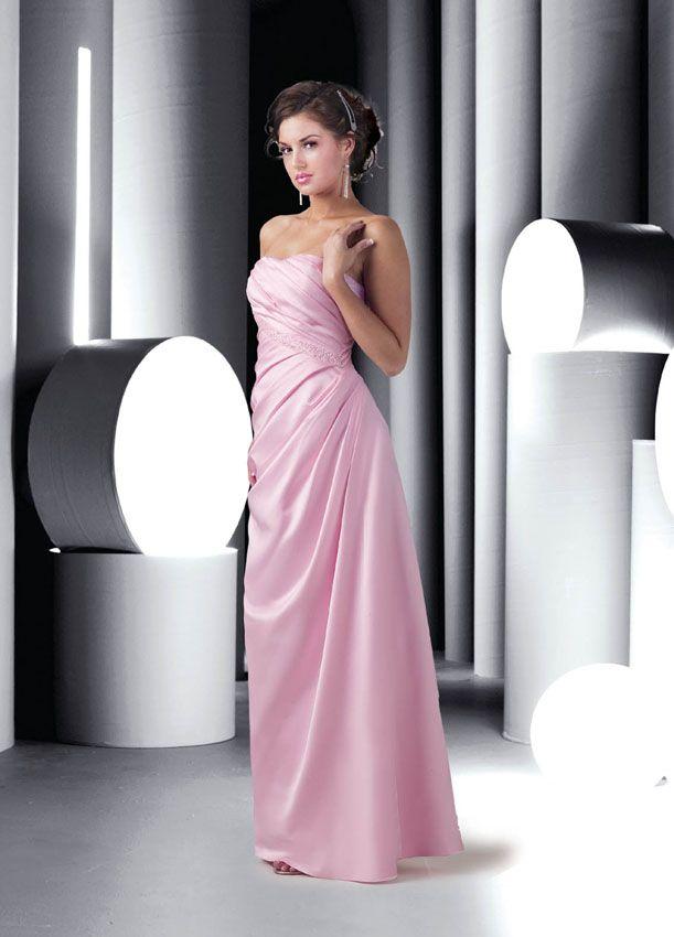 c451090c67 Da Vinci Bridesmaid 9195 Fabric Satin  timelesstreasure