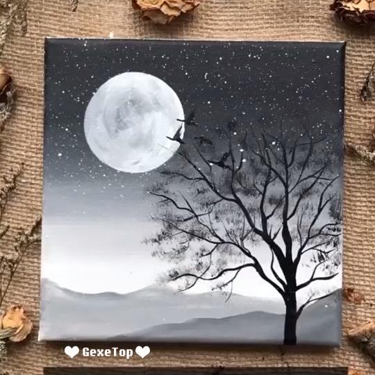 Schöne Acrylmalerei Video Tutorial | Teil 22 – #acrylmalerei #schone #tutorial …