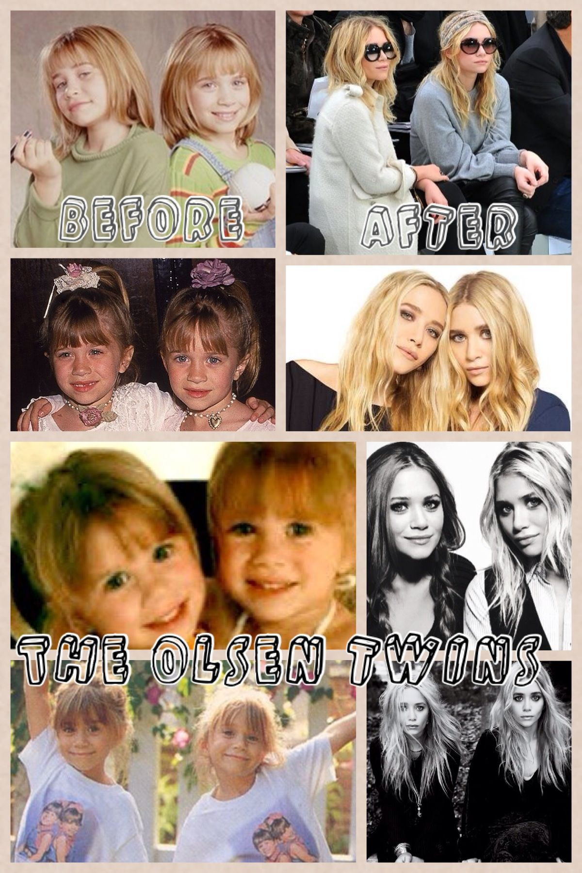 Then & Now: The Olsen Twins (Full House) | Celebrities ...