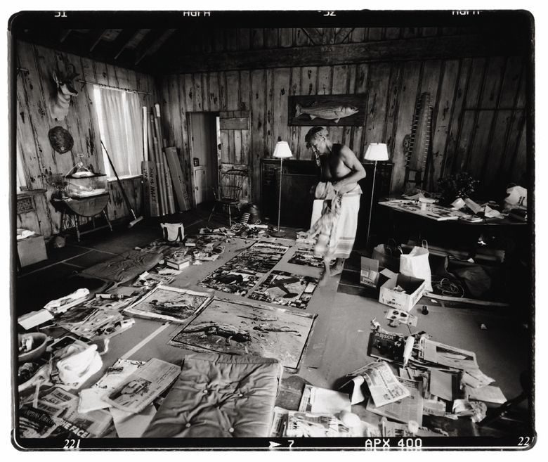 Peter Beard And My Visit To His House In Montauk With Images