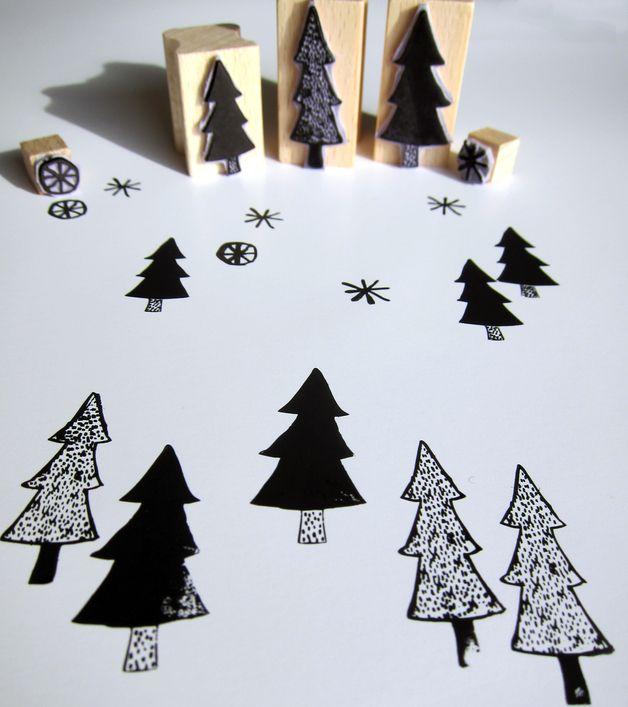 stempelsets f r weihnachten christmas stamp set via. Black Bedroom Furniture Sets. Home Design Ideas