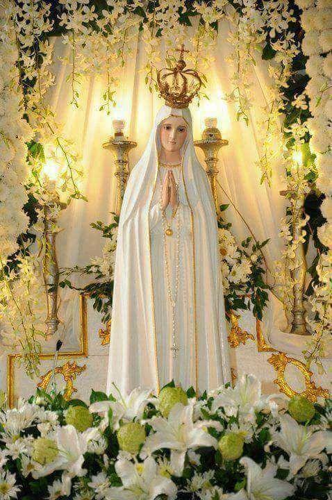 Nuestra Senora De Fatima Virgem Maria Maria Mae De Deus Maria