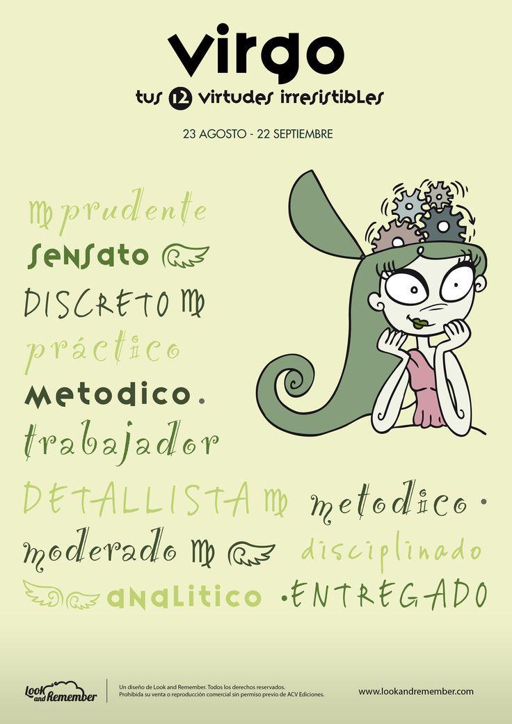 Virgo Signos Del Zodiaco 12 Virtudes Irresistibles