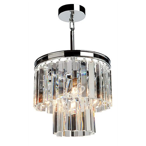 Artcraft el dorado chrome three light 125 inch wide crystal mini artcraft el dorado chrome three light 125 inch wide crystal mini chandelier on sale aloadofball Images
