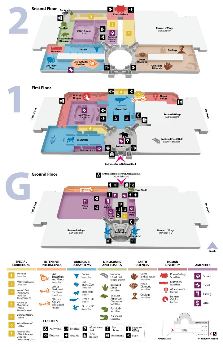 Interactive Floor Plan Second Floor Smithsonian