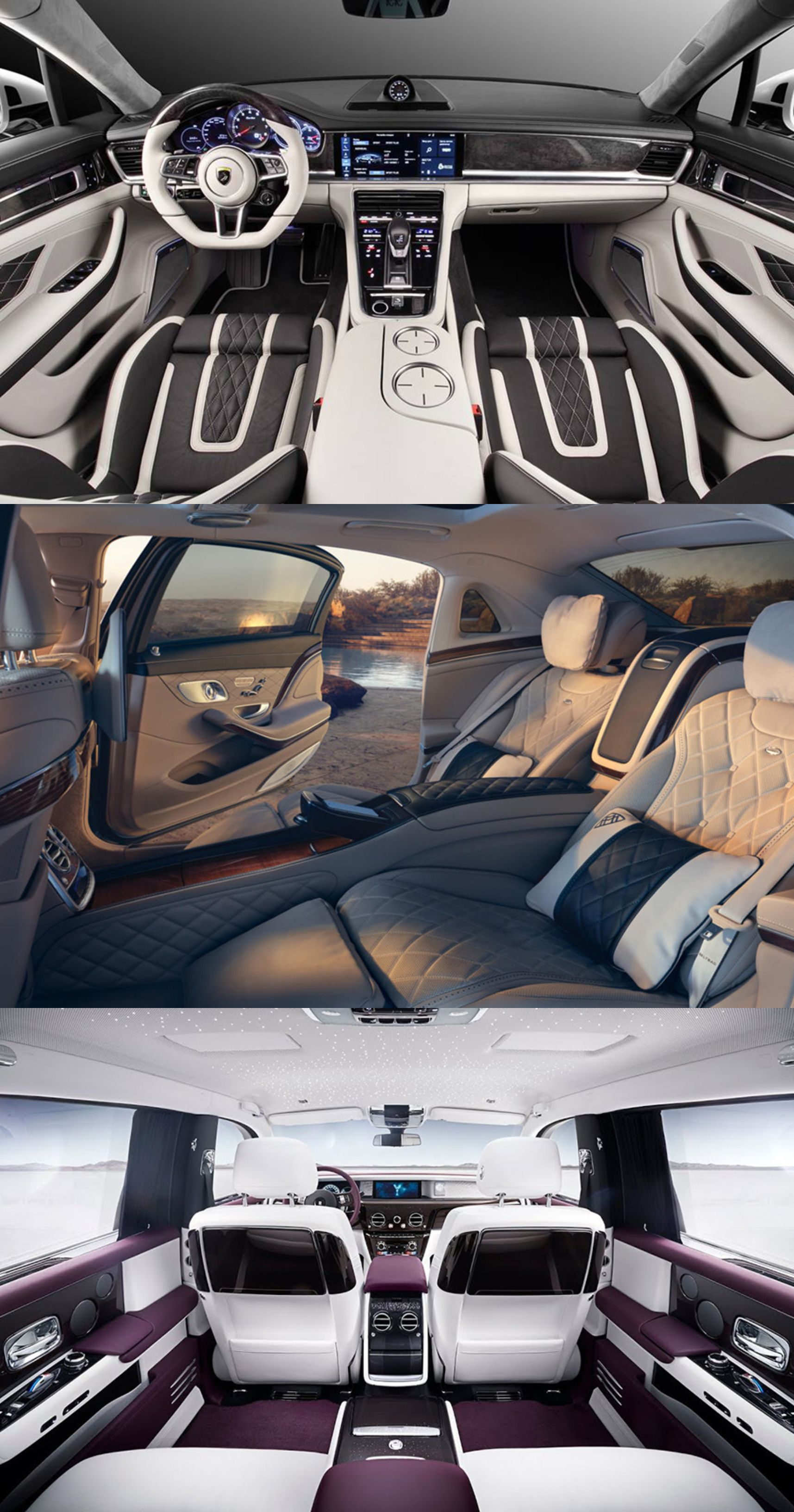 10 Most Luxurious Car Interiors That Will Shock You