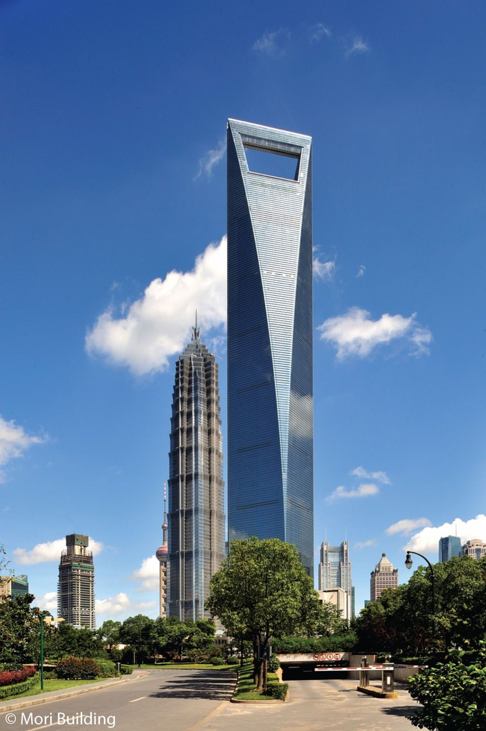 Shanghai World Financial Center | Unique High Rise Towers ...