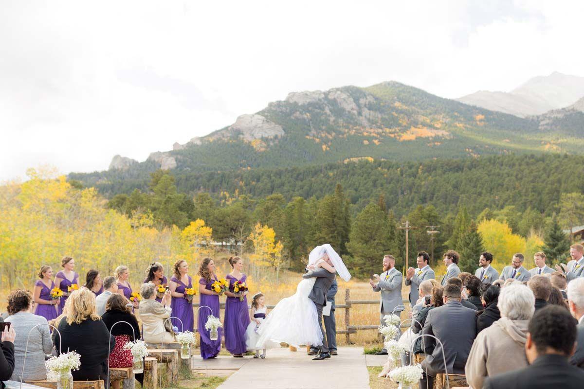 Kayla & Andrew's Wild Basin Lodge Wedding Colorado