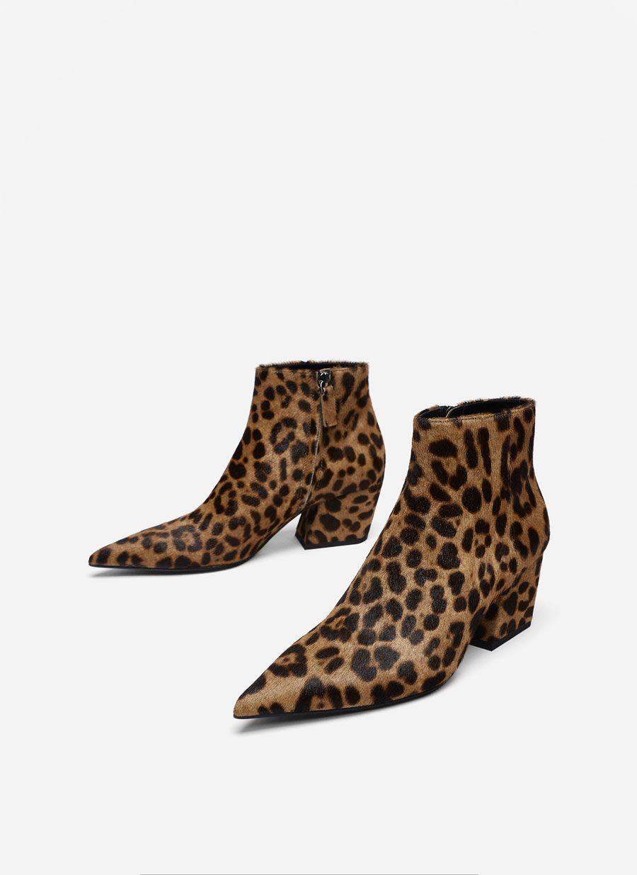 91568509ac Μποτίνια γούνα leopard print 129.00 € κωδ. 4011 051