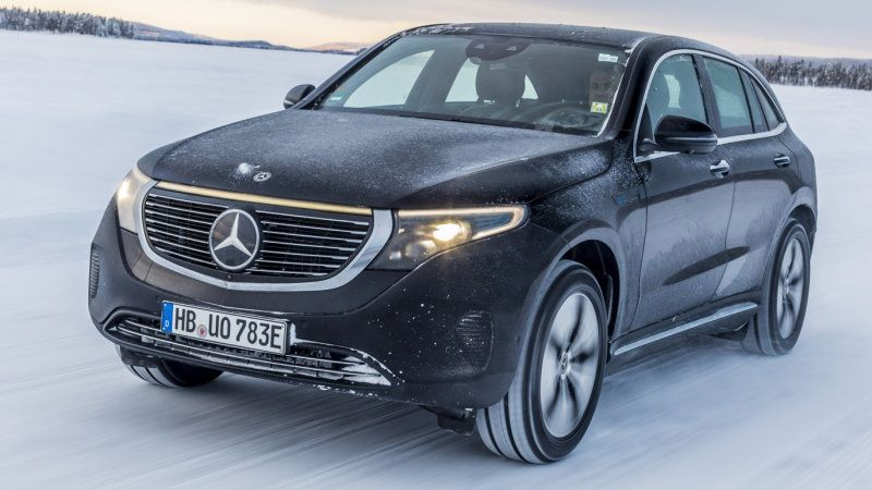 Mercedes Benz Eqc 400 Review Our First Ride In The New Electric