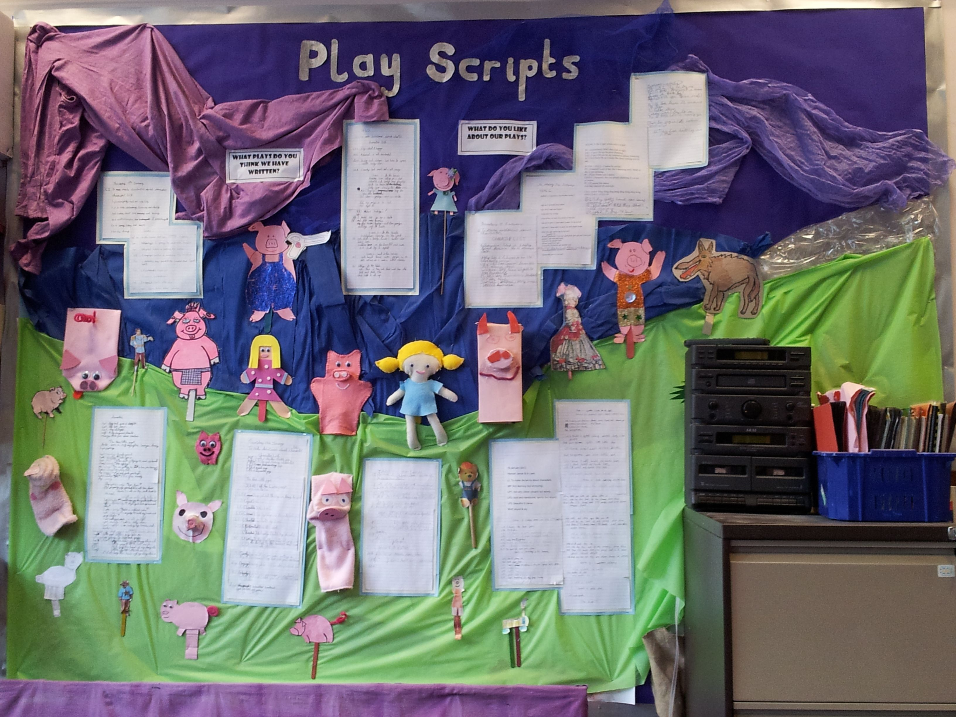 Play Scripts Complete With Children S Fairy Tale Puppets