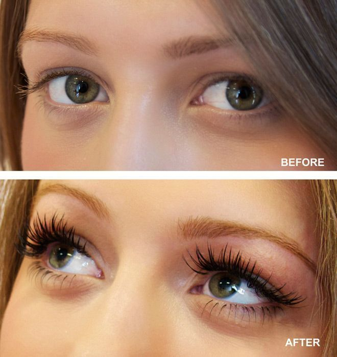 Image result for full face eyelash extensions before and ...