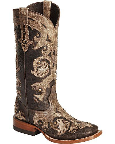 Lucchese Womens Handcrafted 1883 Oklahoma Cowgirl Boot Square Toe Tobacco 10 M US * More info could be found at the image url.