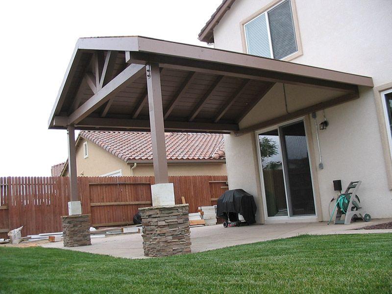 building a patio backyard porch