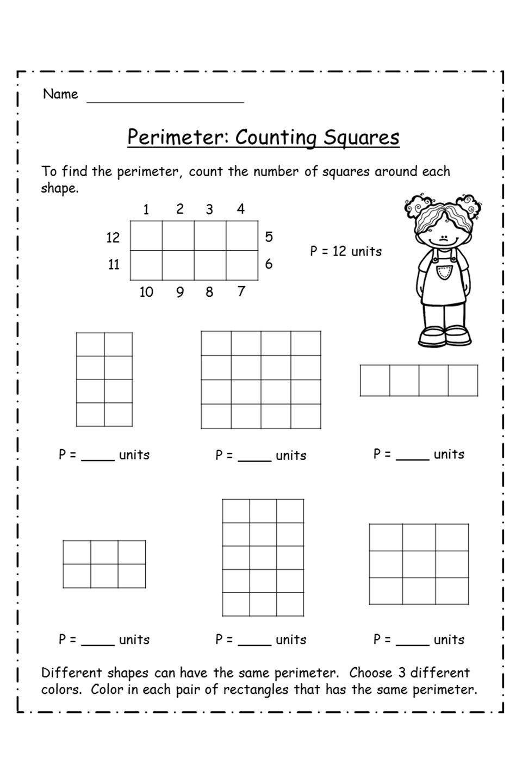 Perimeter Worksheets 3rd Grade In 2020 Perimeter Worksheets Worksheets Area And Perimeter Worksheets