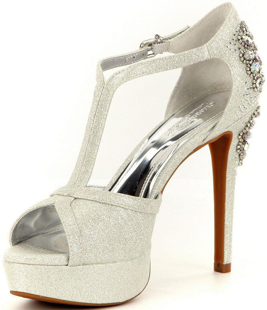 d49cd7d16 Shop for Gianni Bini Laurito Glitter Jewel Ornament Platform Dress Sandals  at Dillards.com. Visit Dillards.com to find clothing, accessories, shoes,  ...