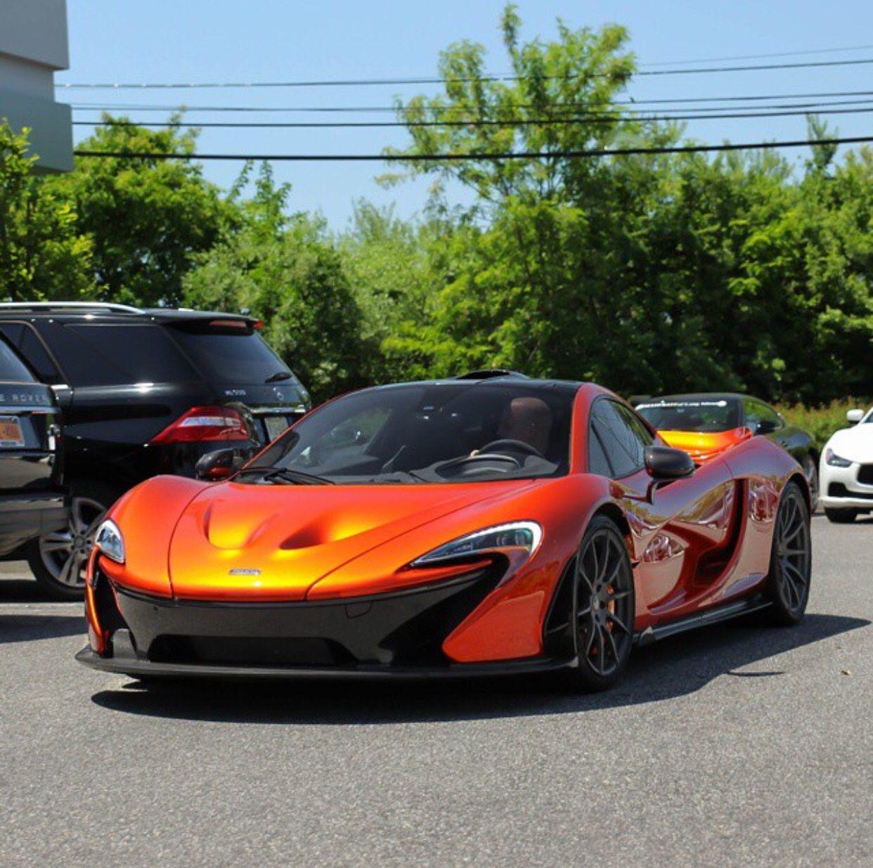 Incroyable McLaren P1 Painted In Volcano Orange Photo Taken By: @northeastmotorcars On  Instagram