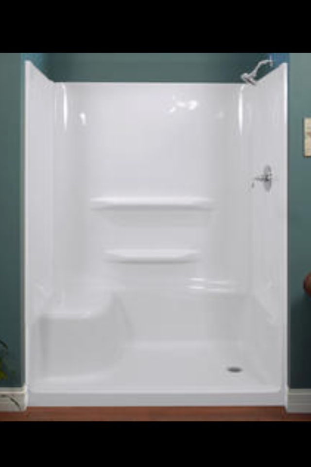 Elite 60 X 32 X 78 Lh Seated Shower Base And Wall Kit Menards