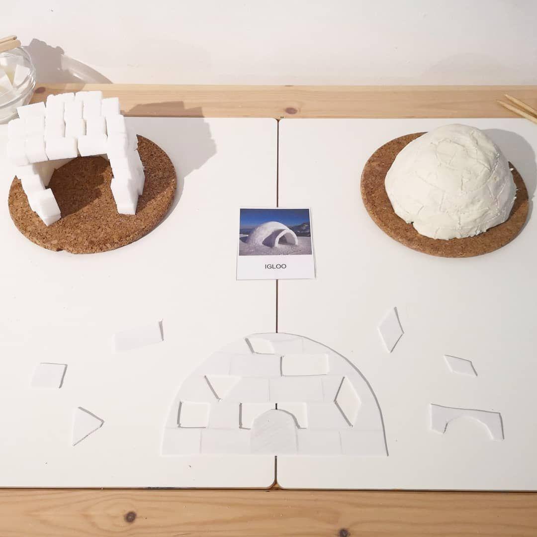 Invitation A Construire Des Igloos En