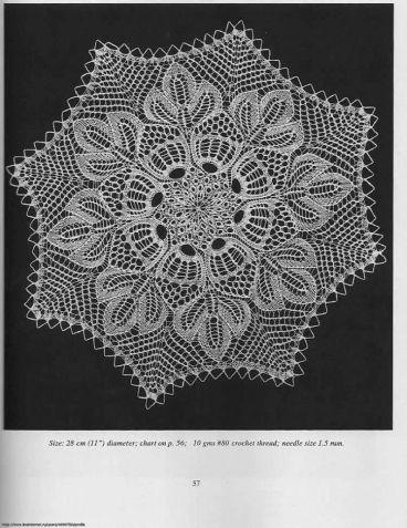 Скатерти и салфетки. Герберт Ниблинг / Вязание спицами / Вязание для женщин спицами. Схемы