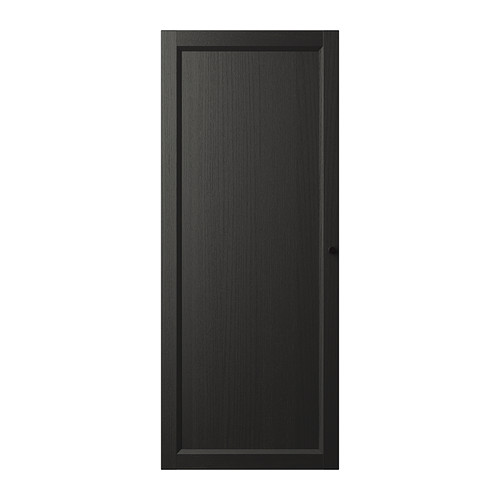 Ikea Oxberg Door Black Brown Adjustable Hinges Allow You To