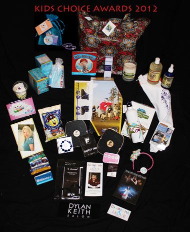 2017 Kids Choice Awards Gift Bag By Hollywood Baskets