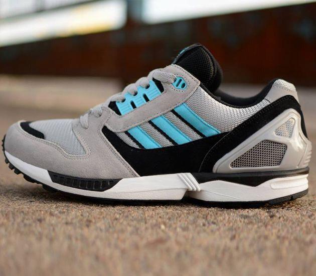 info for ba538 05ddf adidas Originals ZX 5000: Aluminum/Samba Blue | sneakerz
