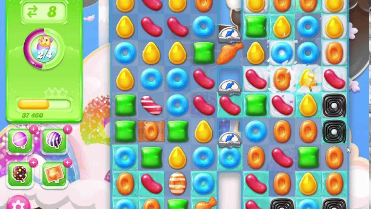 Candy Crush Jelly Saga Level 227 No Booster Candy crush