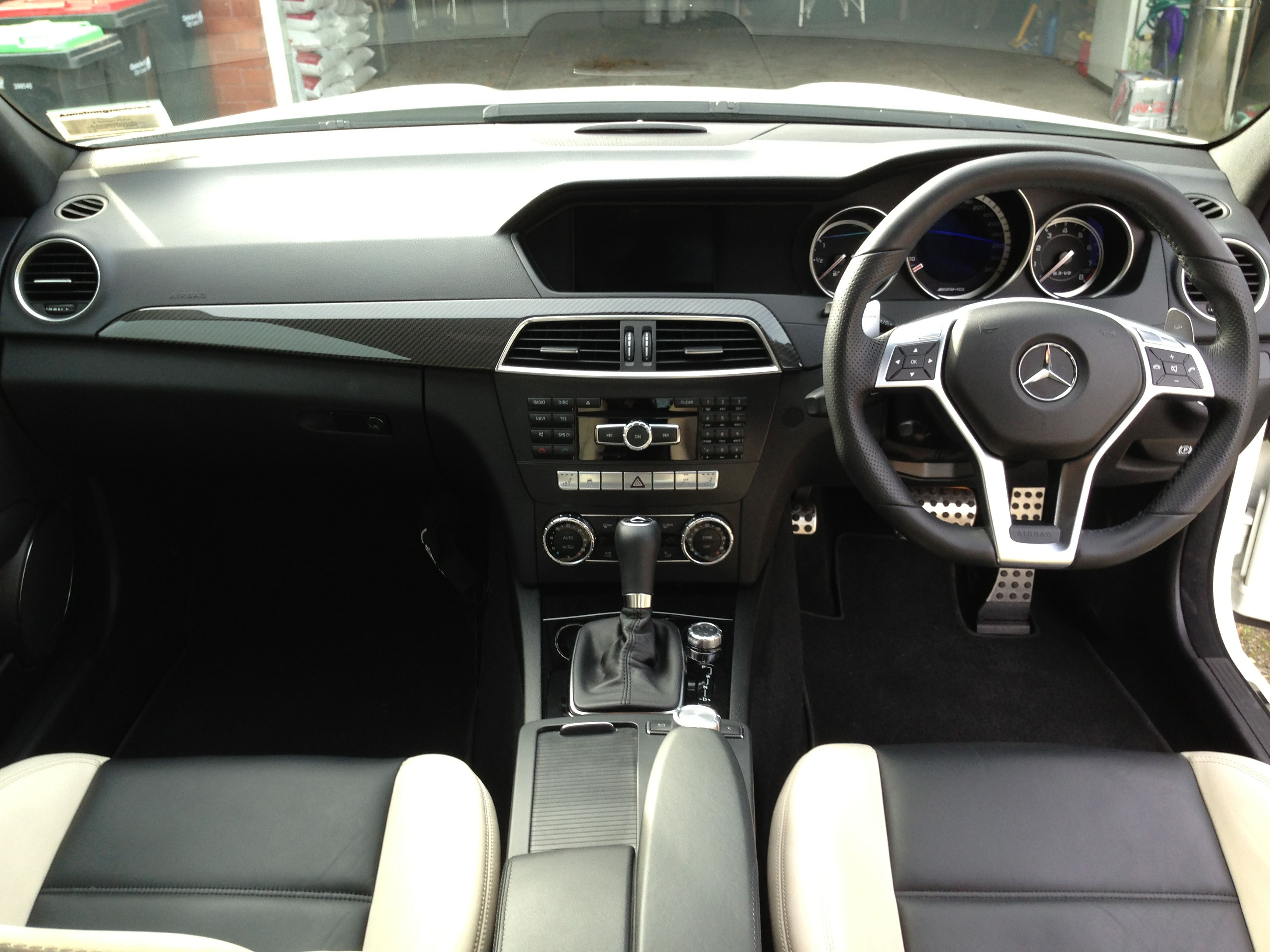 Full Front View With Images Mercedes C63 Amg Mercedes C63