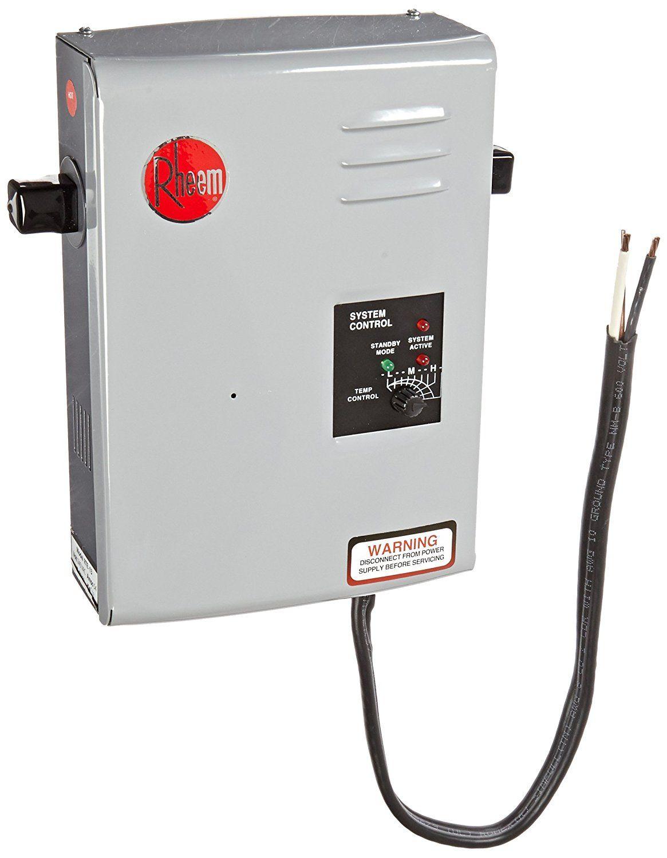 Rheem Rte 13 Best Tankless Water Heater Rheem Rte 13 Is Another Best Electric Tankless Water Heater Which Is Tankless Hot Water Heater Water Heating Water Heating Systems