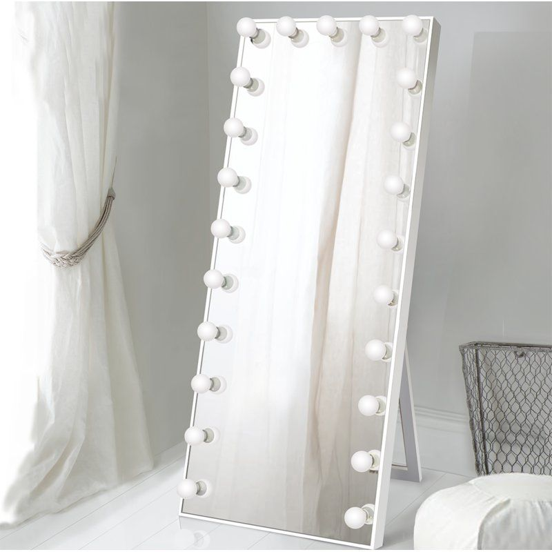 Laleia Lighted Full Length Mirror 869 Floor Mirror With Lights Full Length Mirror Full Length Mirror With Lights