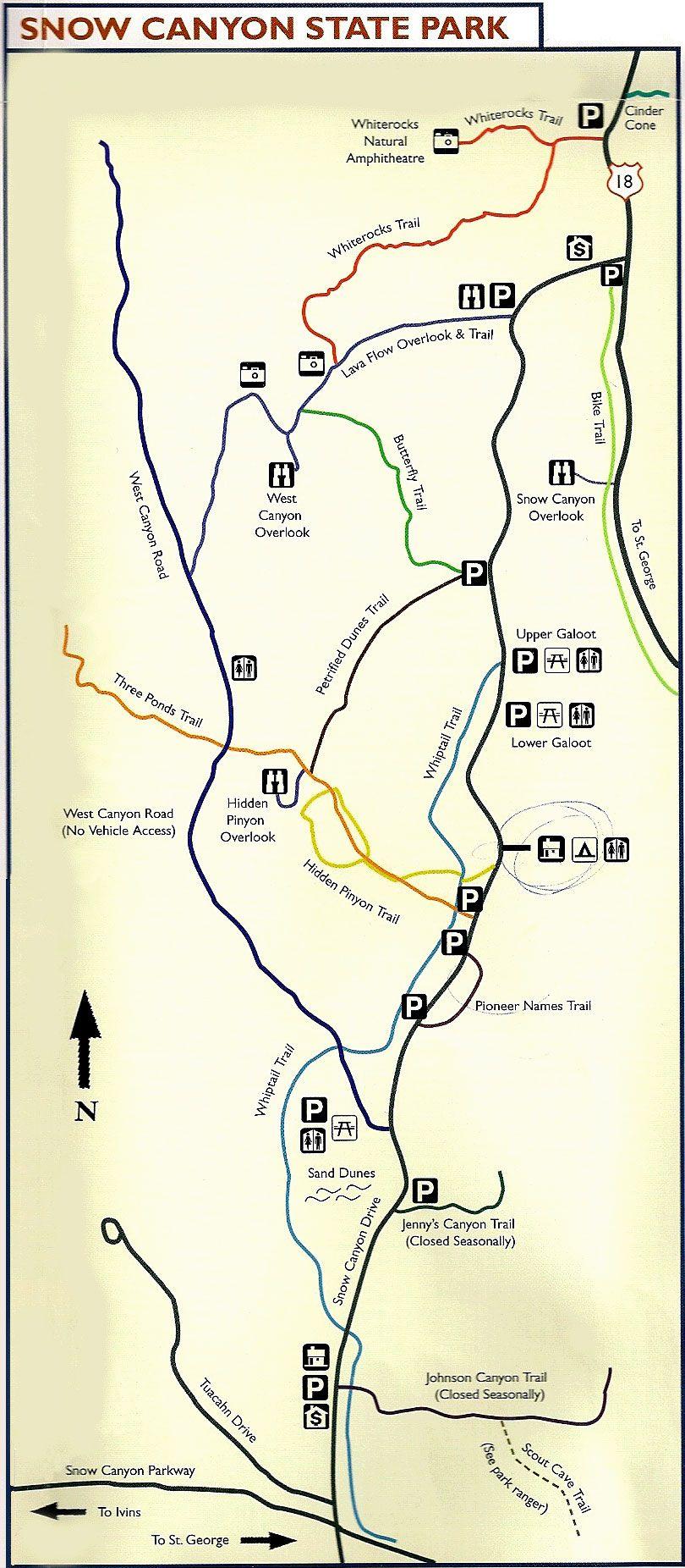 Snow Canyon Hiking Trails - RedRockAdventure.com