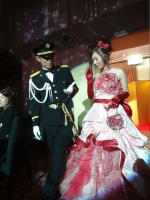 自衛官の誇り 儀礼服 カクテルドレス Wedding Djシモダブログ 儀礼服 ネクタイもあるのかな カクテルドレス 礼服 ドレス