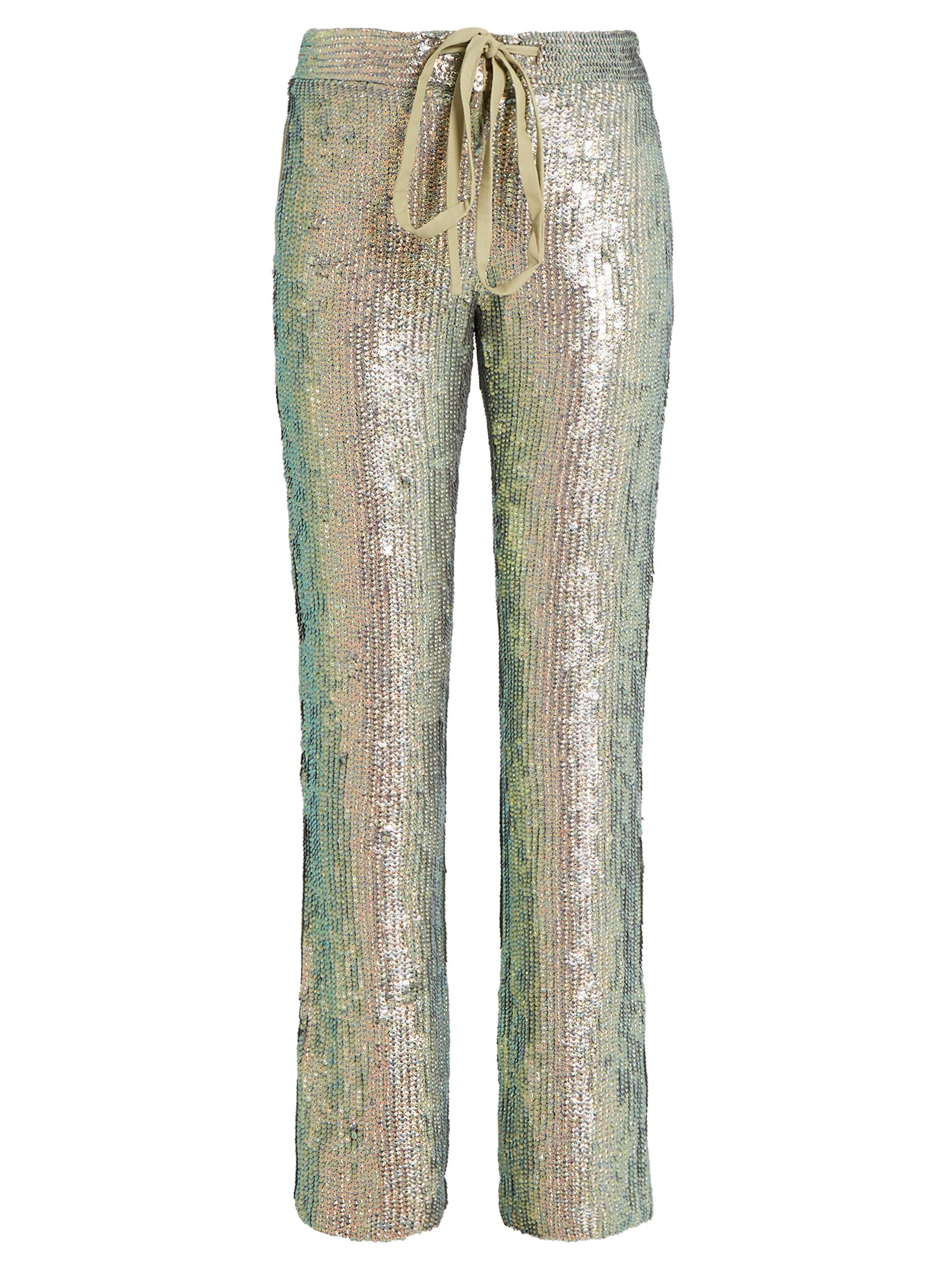 Slim-leg sequin-embellished trousers | Rosie Assoulin | MATCHESFASHION.COM AU