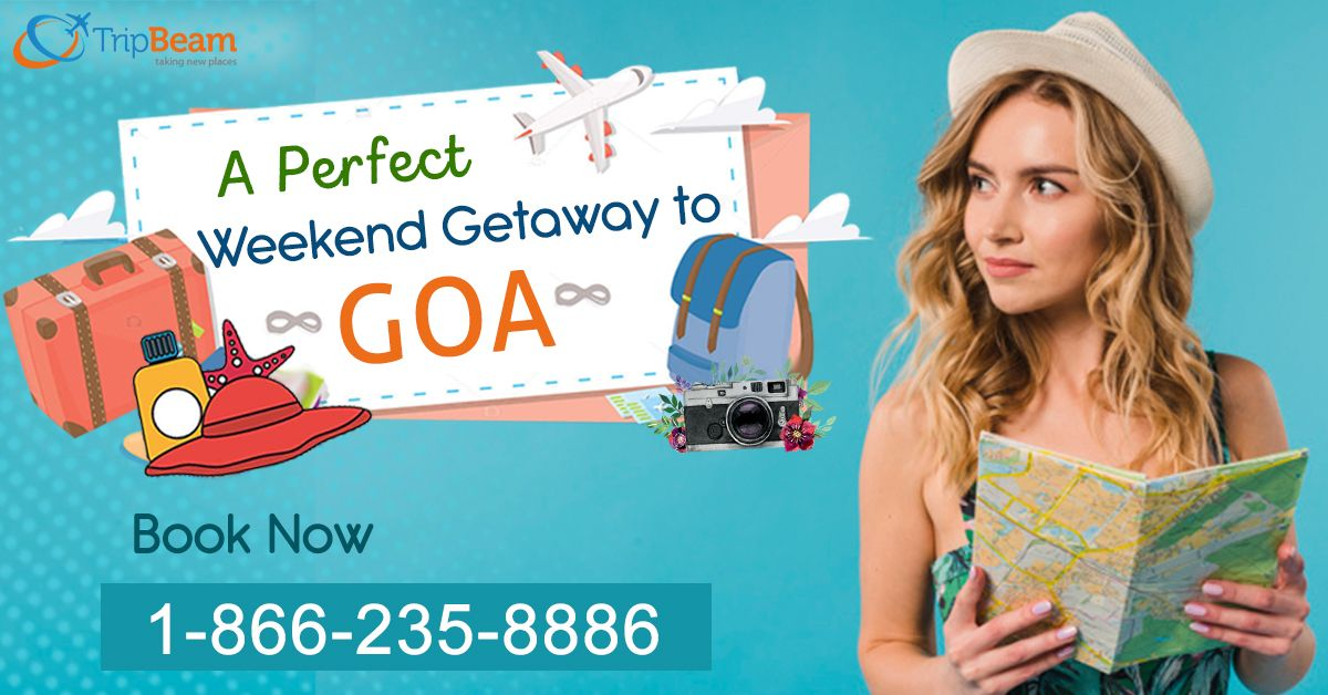 Take advantage of the amazing weekend getaway deals to #Goa.  Book now on Tripbeam!  For more information: Contact us at: 1-866-235-8886 (Toll-Free). Or, click the link in bio @trip_beam.  #weekendgetaway #FlightsToGoa #cheapflights #bookcheapflights #traveldeals #special #offer #traveltogoa #explore #Vacations #CheapFlightBooking
