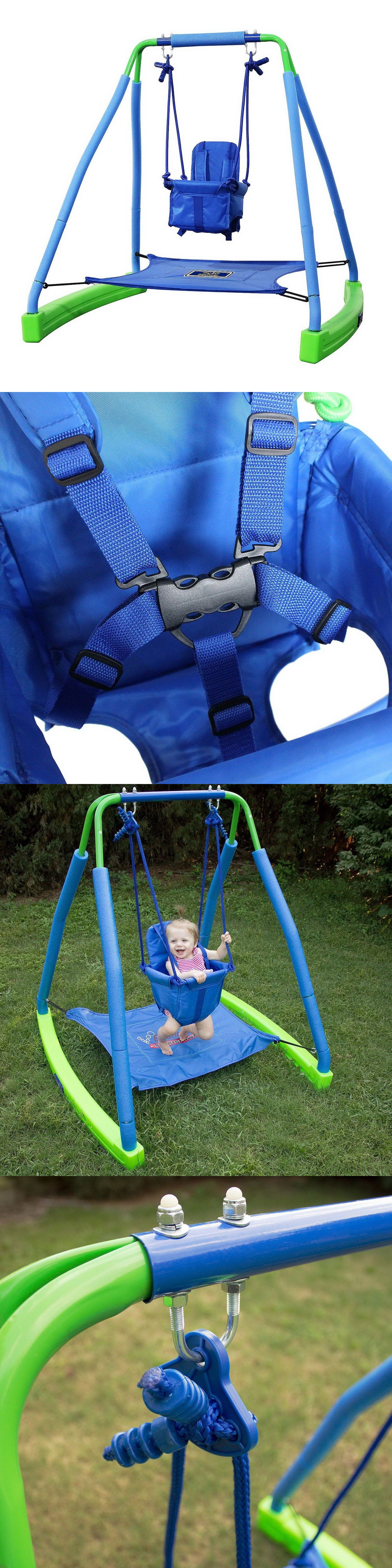 Baby Swings 2990: My First Toddler Swing With Bouncer Safety Harness Age  9-36 Months -> BUY IT NOW ONLY: $125.99 on eBay!