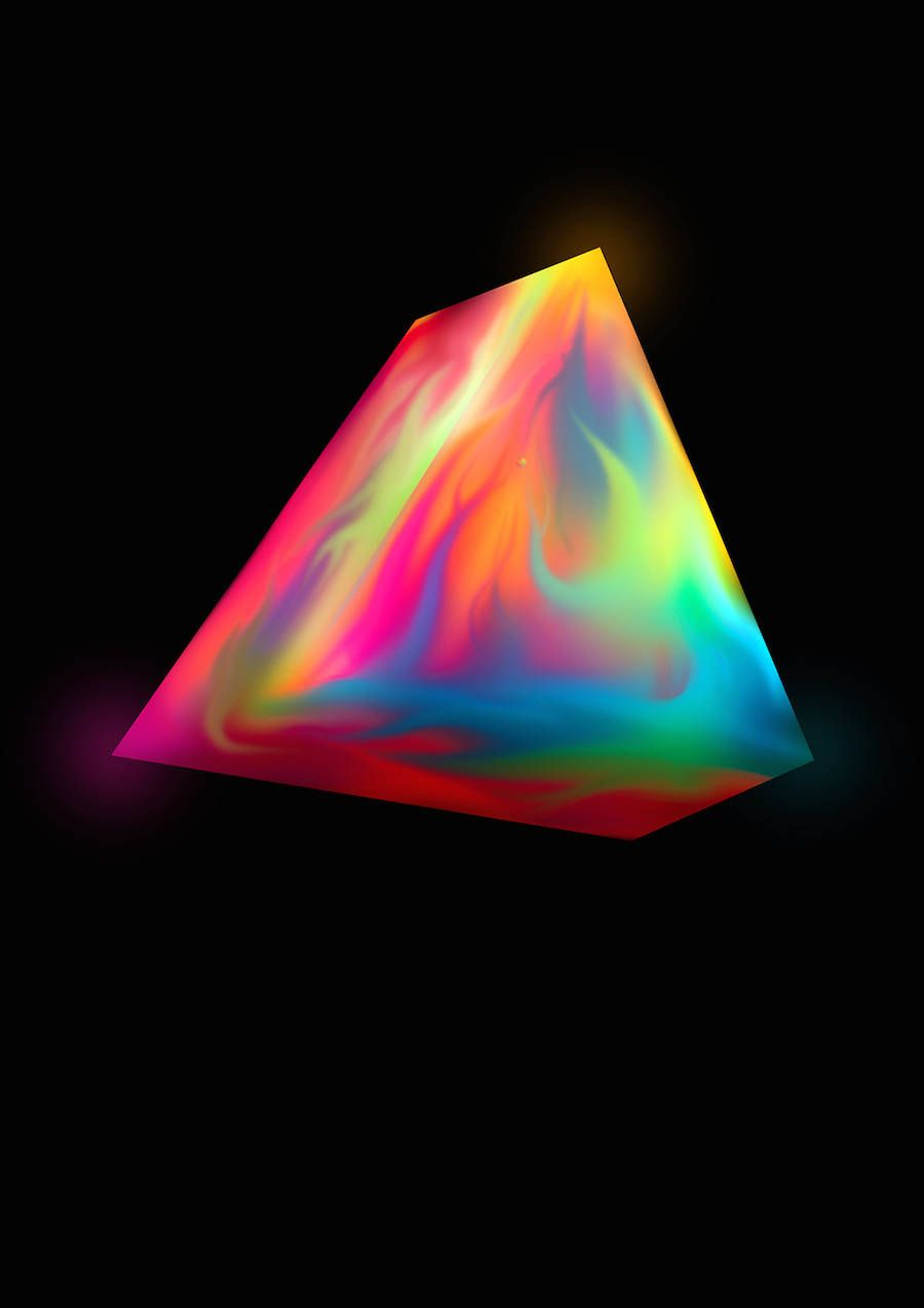 The Colorful & Organic Geometry