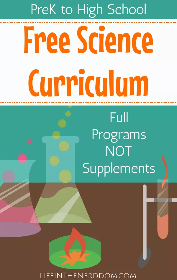 Free Science Curriculum for All Grades Life in the