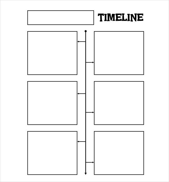 Blank Timeline Template - 30+ Free PSD, Word, POT, PDF Documents - blank timeline