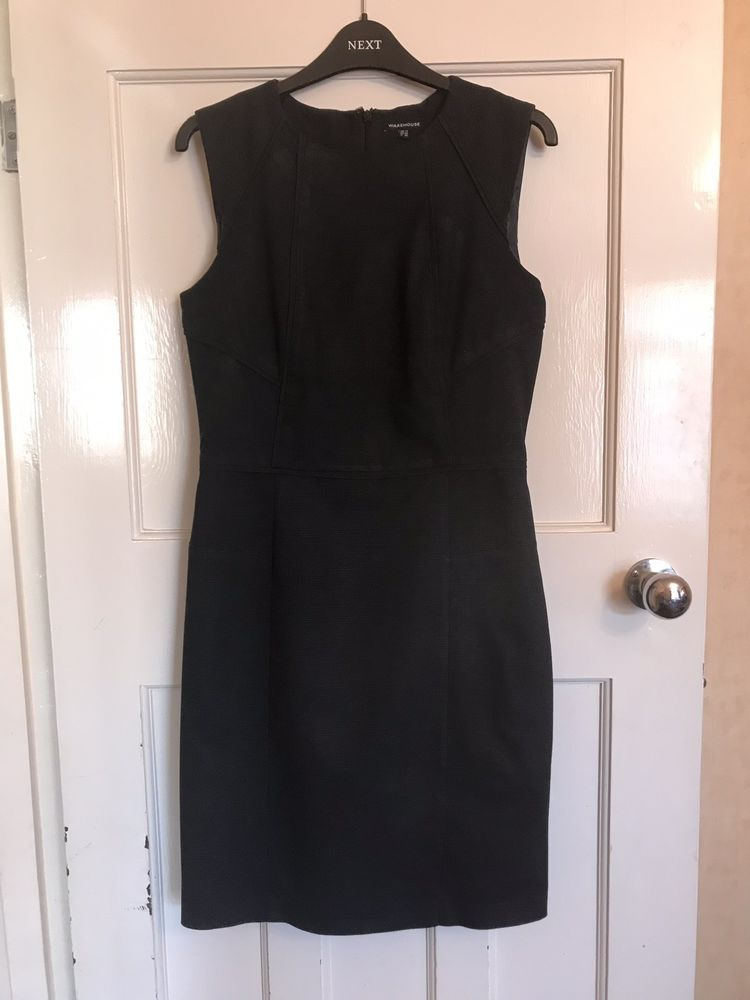 3f0c3413a95 Warehouse Dark Grey Work Dress (size 12)  fashion  clothing  shoes   accessories  womensclothing  dresses (ebay link)