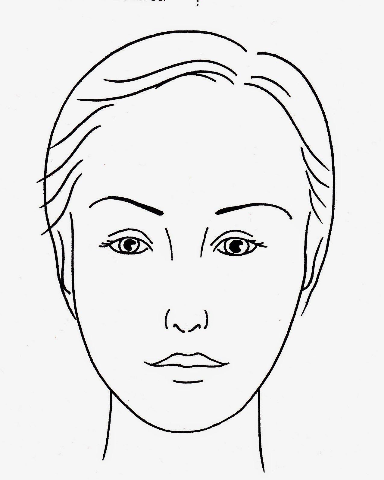 раскраска лицо человека для макияжа это