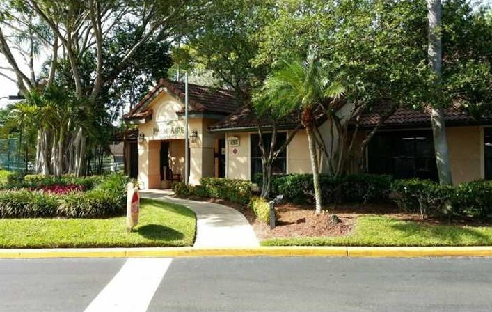 palm aire gardens gated condo community 980 sqfts 2 bedrooms 2 baths and - Palm Aire Garden