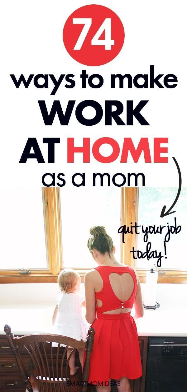 74 Creative Ways to Make Money As a Stay At Home Mom #stayathome