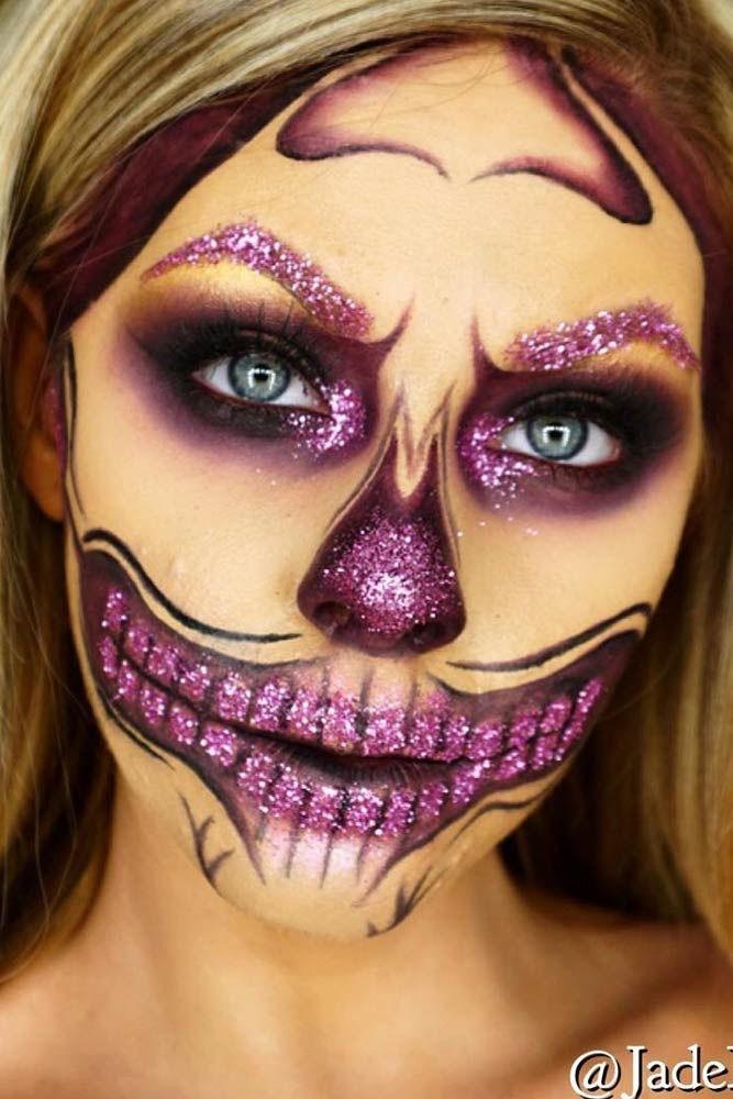 Best Sugar Skull Makeup Creations to Win Halloween ☆ See more: http://