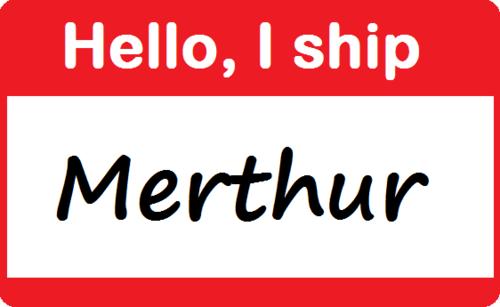 Hello , I ship Merthur... And Johnlock... And too many others!