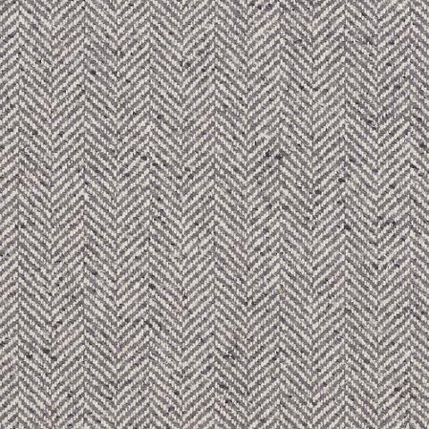 Stoneleigh Herringbone Grey Flannel Fairfield Plaids