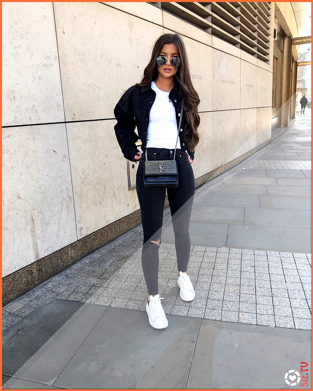 double denim days in topshop  I could LIVE in their denim Screenshot this pic and shop the look with...