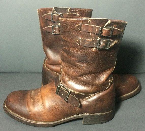 frye shoes men size
