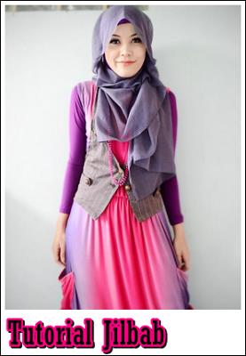 Cara Membuat Silk Scarf untuk Jilbab Hijab fashion