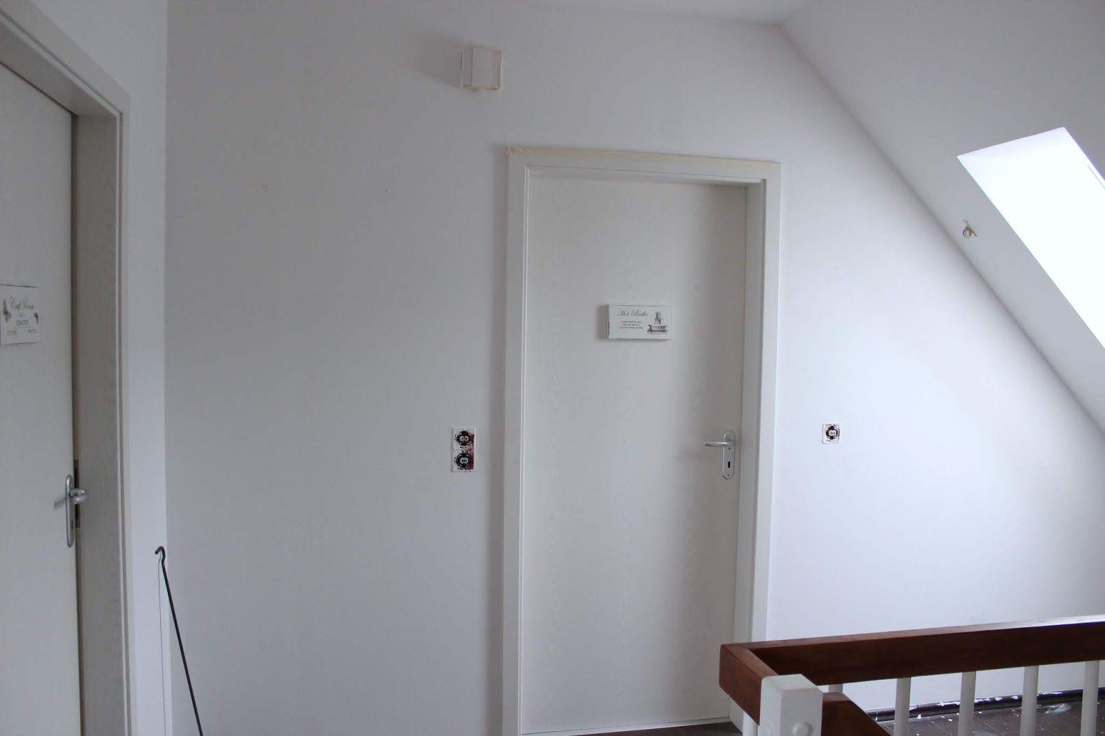 Diy Flur Make Over Inklusive Vorher Nachher Mit Neuer Wandfarbe In Schimmer Optik Shiny Rose Wohnungsrenovierungen Wohnung Renovierung Wandfarbe